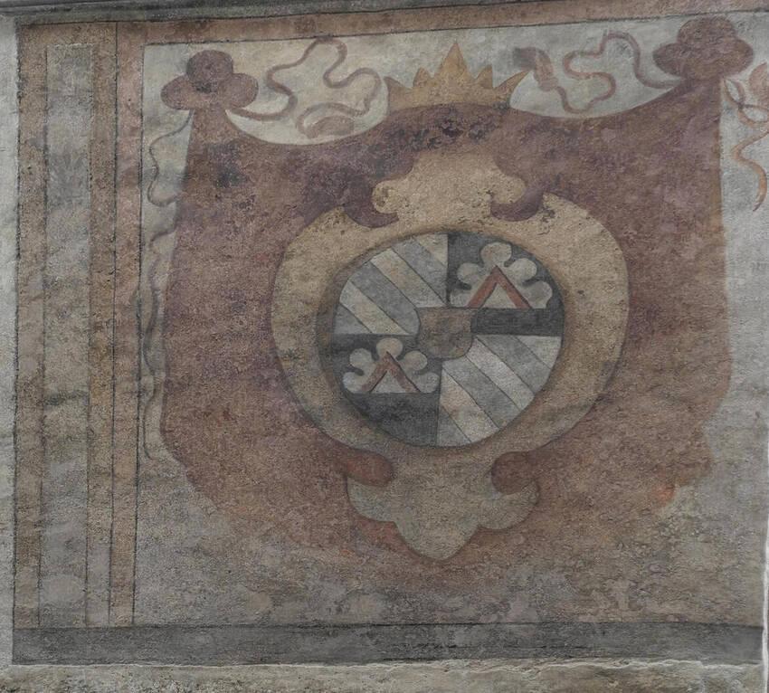Stemma araldico Madruzzo / Frazione Cavedine / Pitture ...